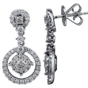 Diamond Earrings E51460